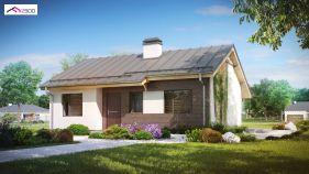 Проект дома Z 262 - вид 1
