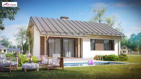 Проект дома Z 262 - вид 2