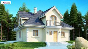 Проект дома Z 27 - вид 1