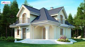 Проект дома Z 27 - вид 2