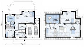 Проект дома Z 272 - схема