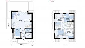 Проект дома Z 290 - схема