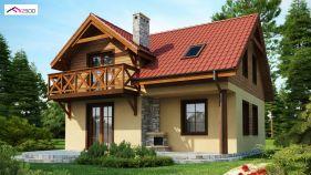 Проект дома Z 3 - вид 1