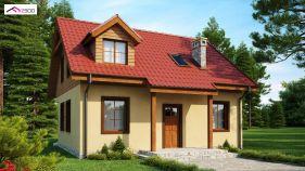 Проект дома Z 3 - вид 2