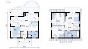 Проект дома Z 3 - схема