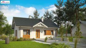 Проект дома Z 308 - вид 1