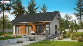 Проект дома Z 308 - вид 2