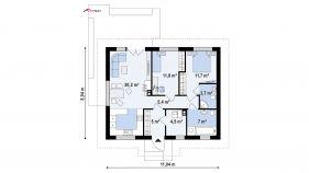 Проект дома Z 308 - схема