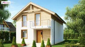 Проект дома Z 38 - вид 1