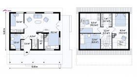 Проект дома Z 39 - схема