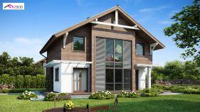 Проект дома Z 47 - вид 1