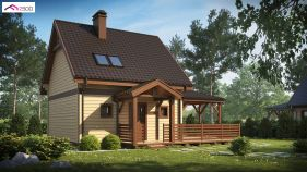Проект дома Z 57 - вид 1
