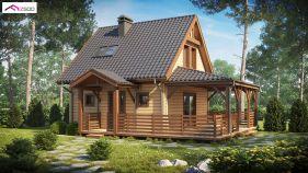 Проект дома Z 57 - вид 2