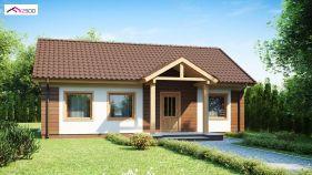 Проект дома Z 61 - вид 1