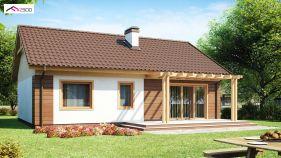 Проект дома Z 61 - вид 2