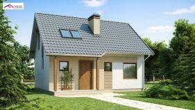 Проект дома Z 71 - вид 1