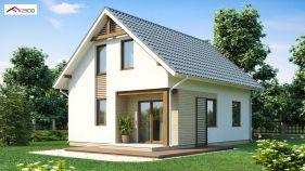 Проект дома Z 71 - вид 2