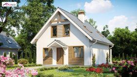 Проект дома Z 99 - вид 2