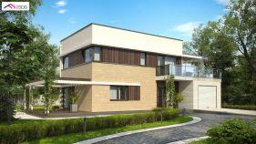 Проект дома Zx 63 A - вид 1
